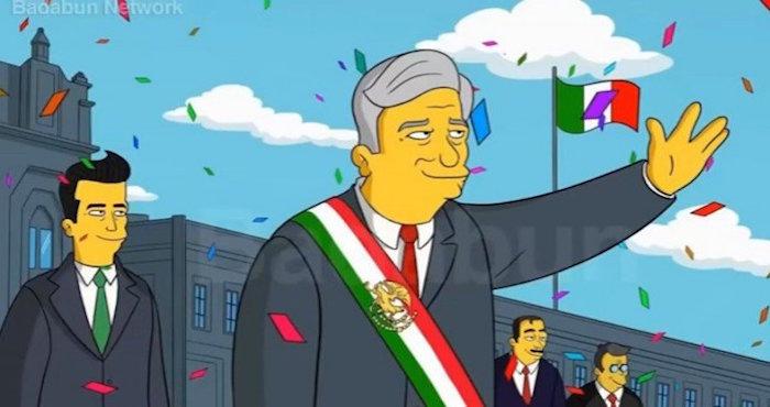 ¿Los Simpson predicen la victoria de López Obrador en las ...