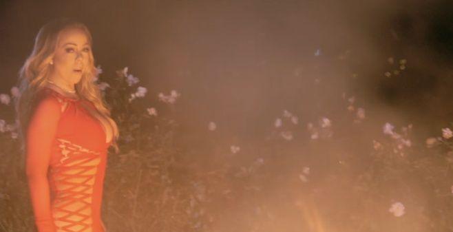 mariah carey quema vestido de novia que usaría en su boda · antena