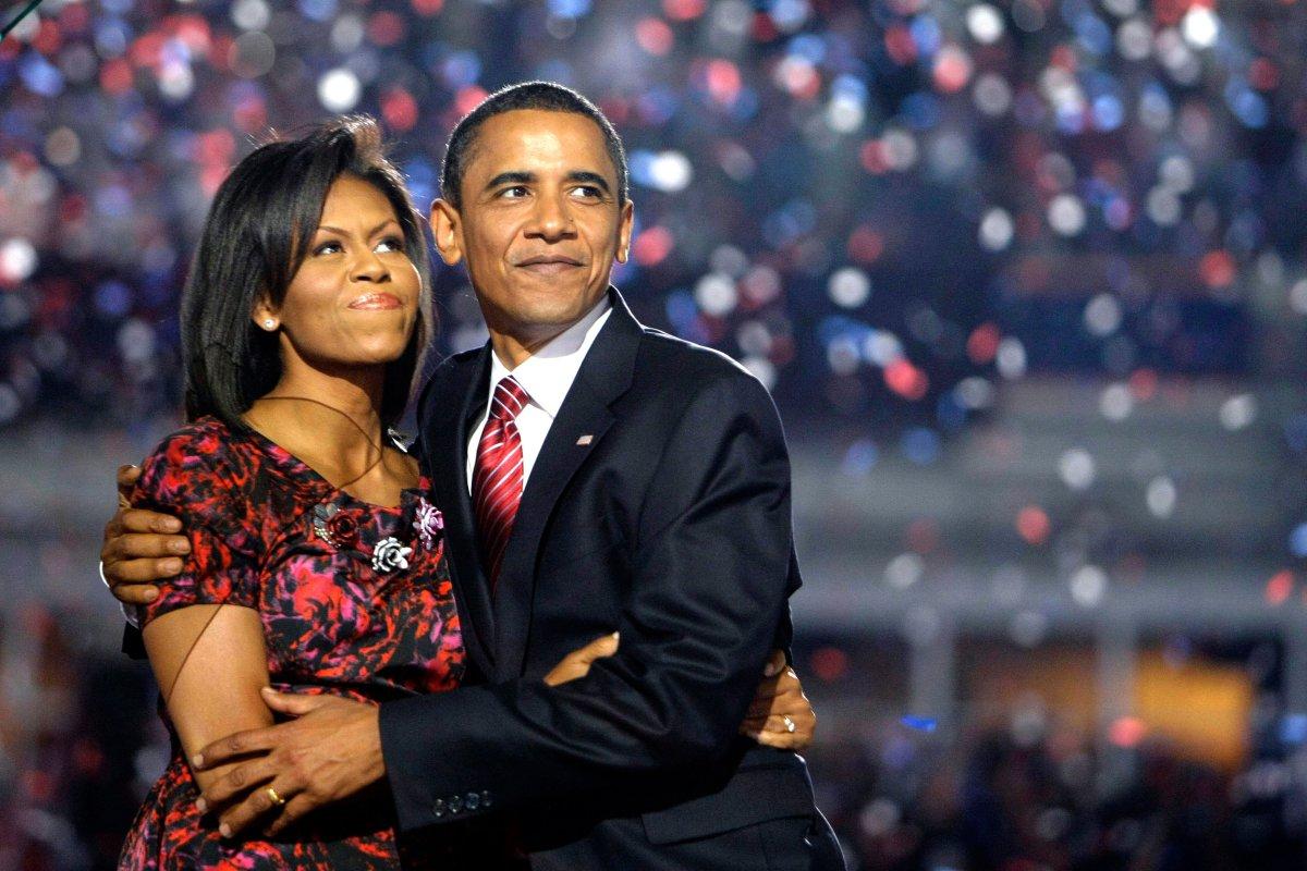 Resultado de imagen para barack y michelle obama